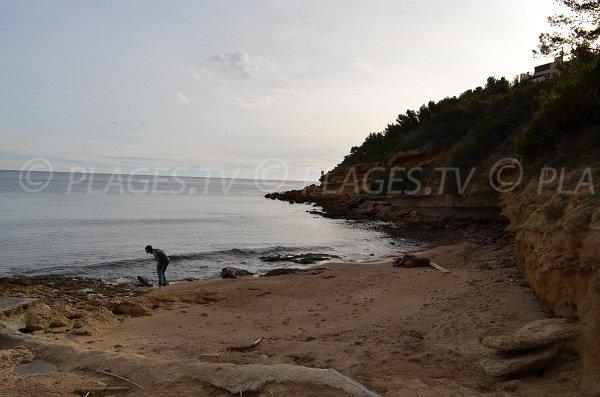 Spiaggia di sabbia del Cap Rousset - Carry le Rouet