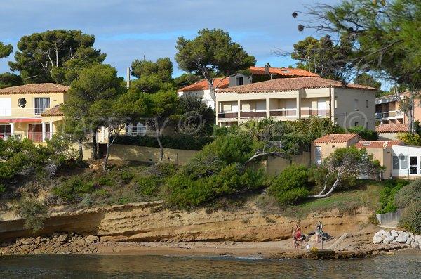 Cricche di sabbia del Cap Rousset - Francia