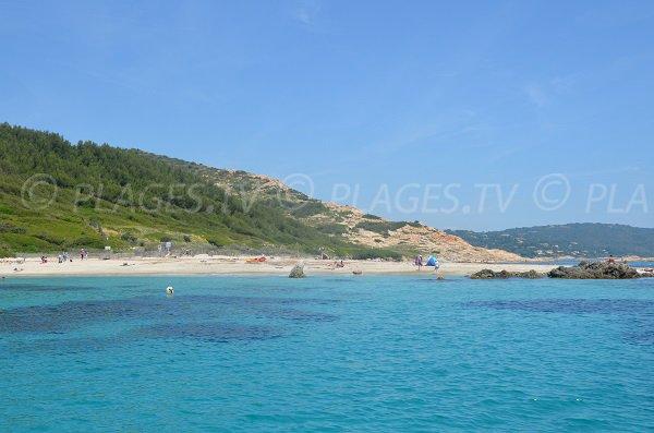 Spiaggia Cap Taillat - Baia di Briande