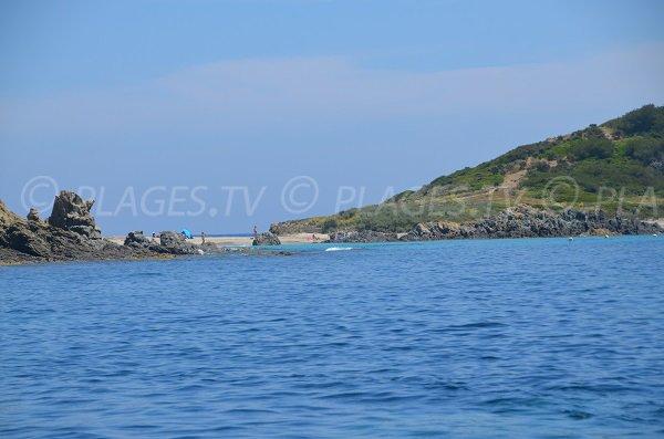 Spiaggia Cap Taillat - Sul versante