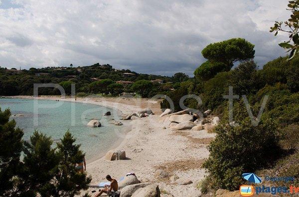 Photo de la plage de Capicciola de Sainte Lucie de Porto-Vecchio
