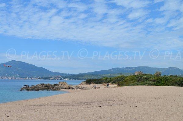 Capitello beach in Ajaccio - Corsica