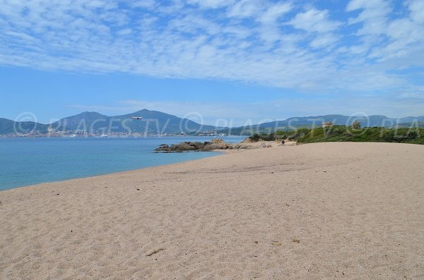 Photo of Capitello beach in Porticcio in Corsica