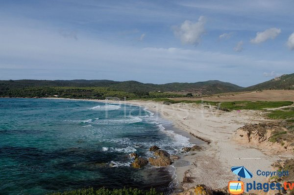 Spiaggia nudista a Ajaccio - Capo di Feno
