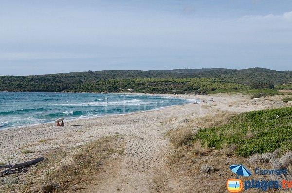 Zona nudista spiaggia di Grand Capo - Ajaccio