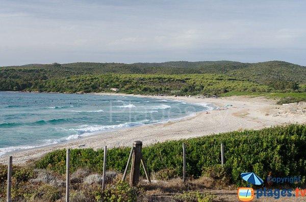 Foto spiaggia di Capo di Feno a Ajaccio - Corsica