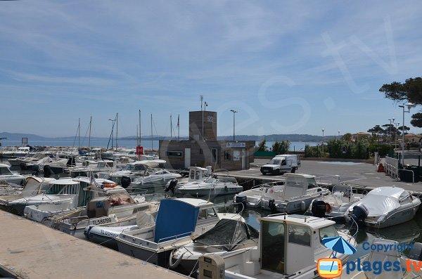 Port of La Capte in Hyeres