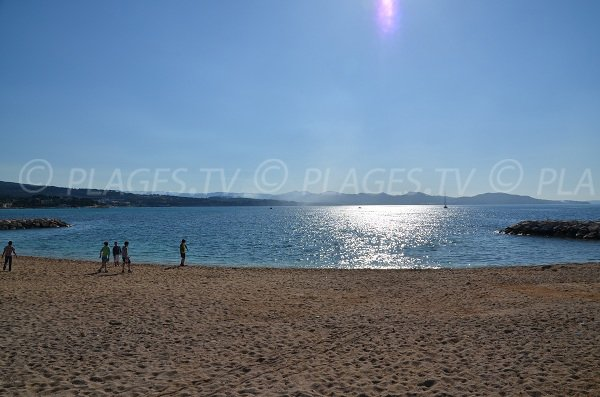 La Ciotat beach in the Capucins bay
