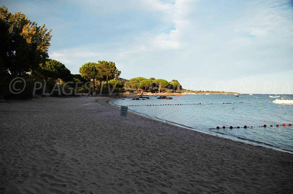 Plage Nord de Caramontinu