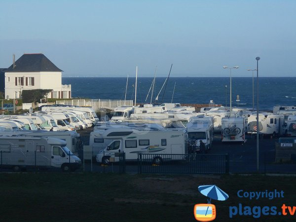 Aire camping-car Erquy