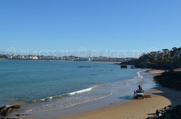 Spiaggia del Carré a Ciboure Socoa in Francia