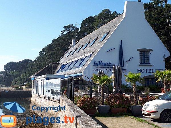 Restaurant à côté de la plage de la Carrière - Arradon