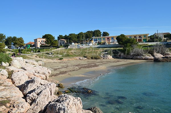 Carro beach in La Couronne - Martigues