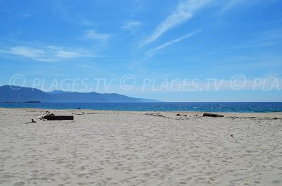 Beach in Casaglione (Corsica)