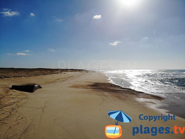 Plus belle plage des Landes - Seignosse - Les Casernes