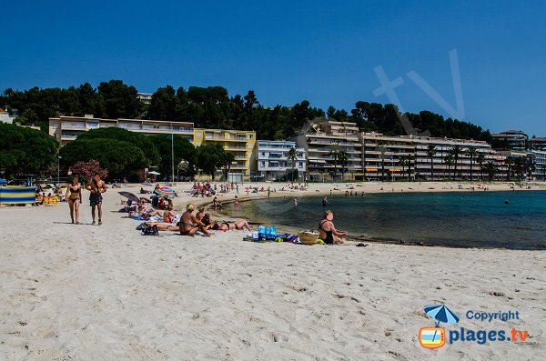 Photo de la plage du Casino à Bandol