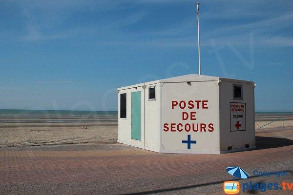 Poste de secours de la plage du Casino - Bray-Dunes