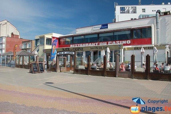 Restaurants autour de la plage du Casino - Bray-Dunes