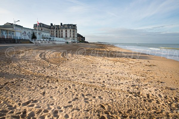 Photo of Casino beach in Houlgate - Normandy - France