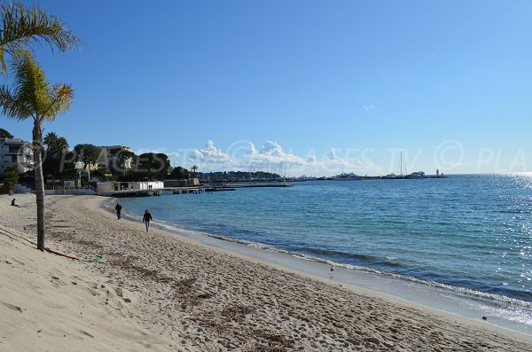 Juan les Pins beach - Casino and Pinede areas