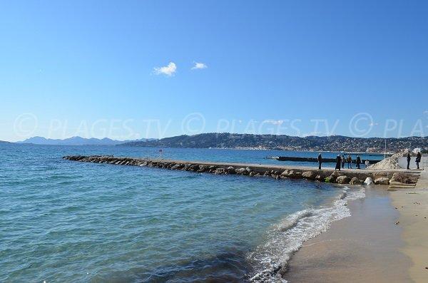 Spiaggia del Casino a Juan les Pins - Francia
