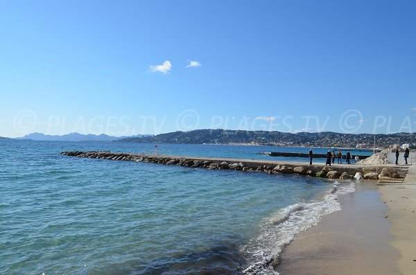Casino beach in Juan les Pins - France