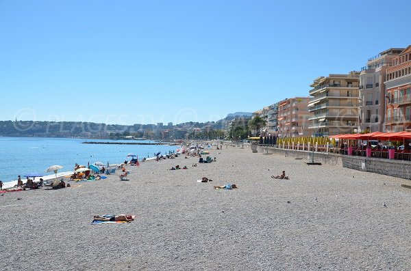 Beach of the Casino of Menton