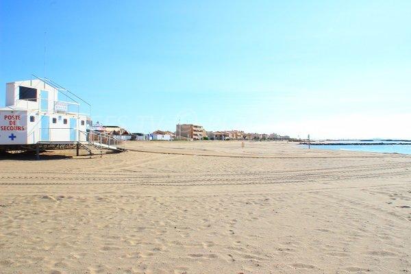 Plage du casino valras plage 34 h rault languedoc roussillon - Office de tourisme de valras plage ...