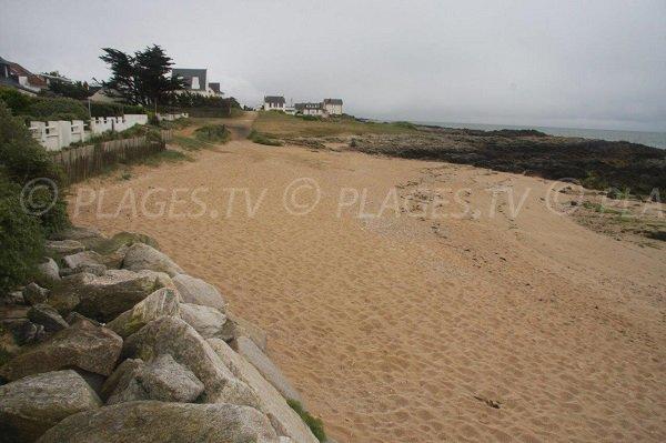 Photo de la plage de Casse Caillou - Batz sur Mer