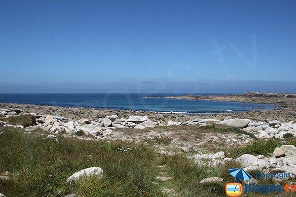 Côte Rocheuse sur l'ile grande