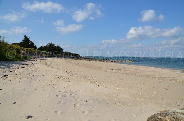 Photo de la plage sur la presqu'ile de Quiberon - Castéro