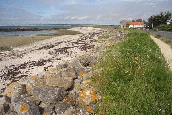 Photo de la plage de Castouillet au Croisic