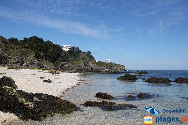 Photo de la plage de Castoul au Palais à Belle Ile en Mer