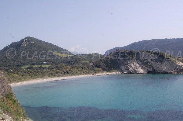 Catarelli beach between St Florent and Cap Corse