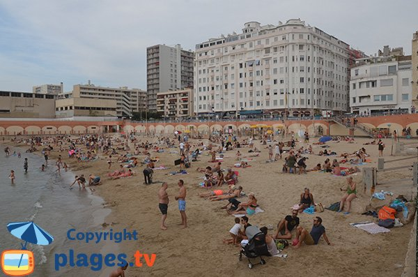Photo of Catalans beach in Marseille