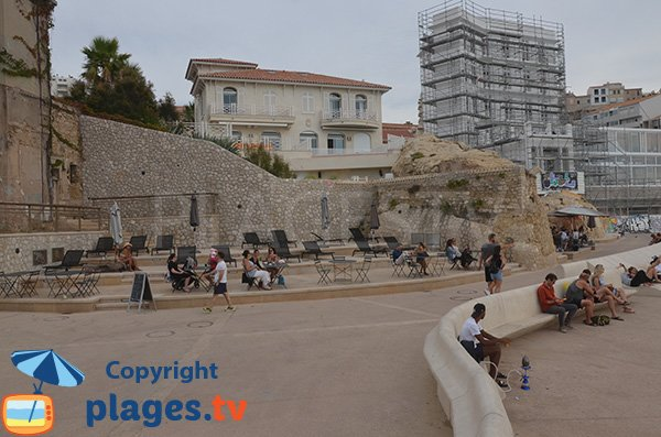 Photo of Catalans beach in Marseille - France
