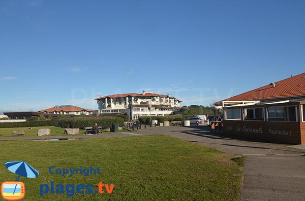 Centre de thalassothérapie d'Anglet à proximité de la plage des Cavaliers