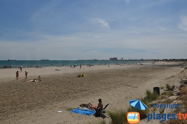 Photo of Cavaou beach in Fos sur Mer in France