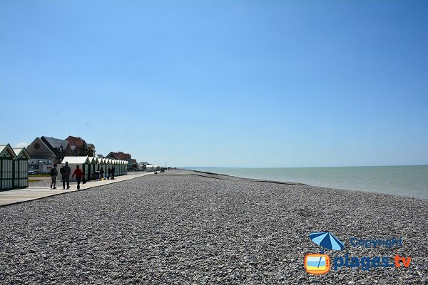 Photo of Cayeux sur Mer beach in North of France