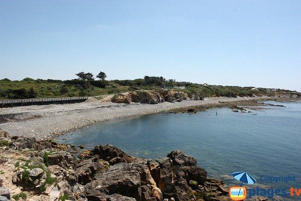 Photo de la plage de Cayola à Château d'Olonne