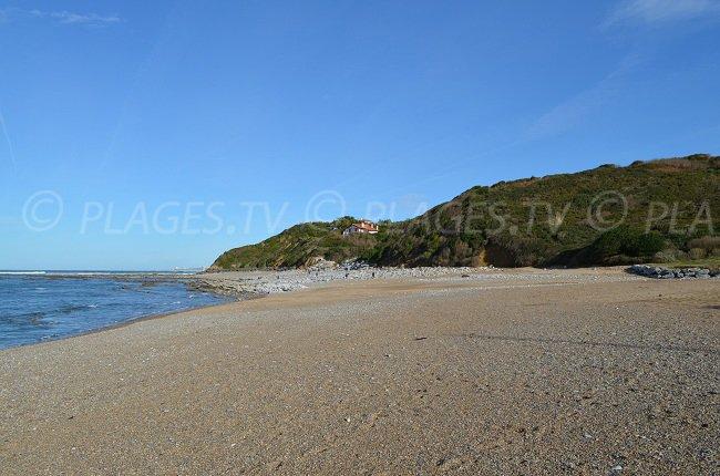 Cenitz beach between Guéthary and Saint Jean de Luz