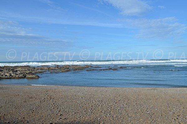 Gravels and sand beach - Cenitz - Saint Jean de Luz