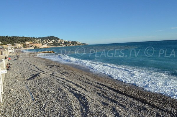 Plage du Centenaire à Nice