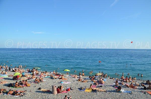 Plage à Nice le 15 aout - Le centenaire
