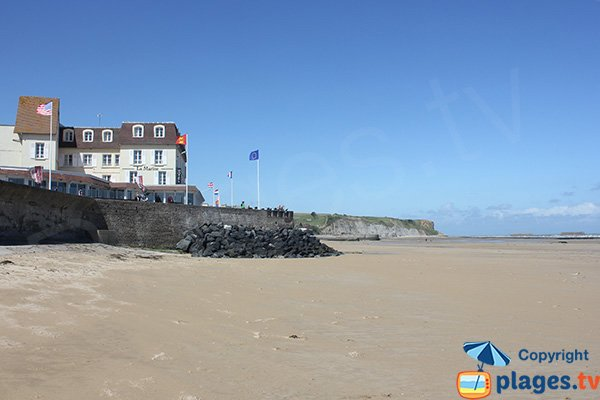 Photo of Arromanches les Bains beach in Normandy - France