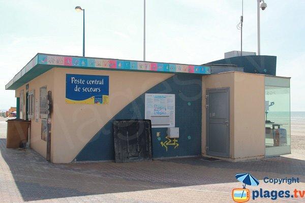 Poste central de secours à Bray-Dunes