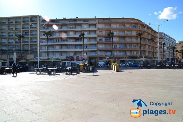 piazza della Méditerranée - Canet en Roussillon