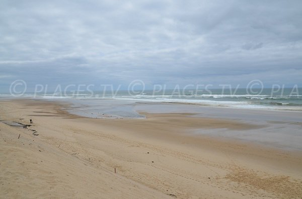 Foto della spiaggia di Carcans - Francia