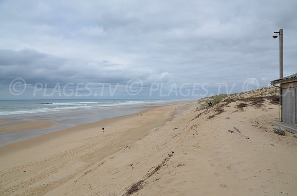 Plage Centrale Carcans  33  Gironde Aquitaine