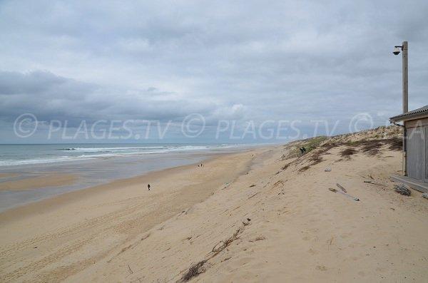 Spiaggia Centrale di Carcans in Francia